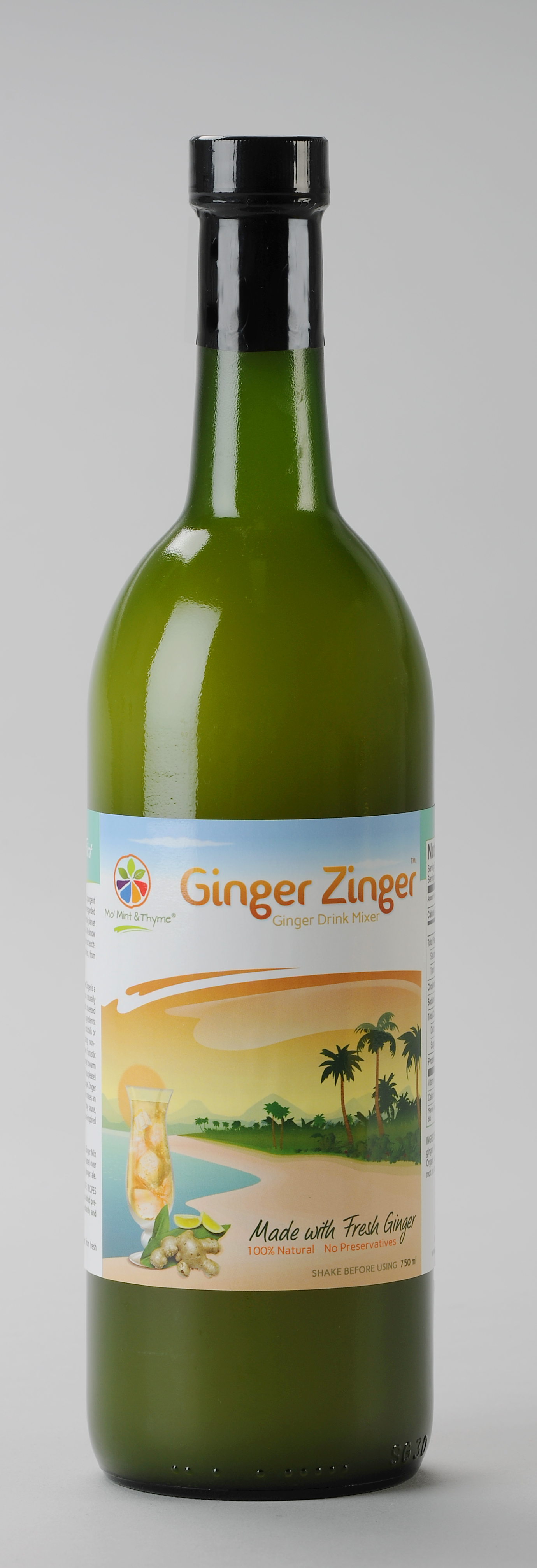 Ginger Zinger - 750 ml